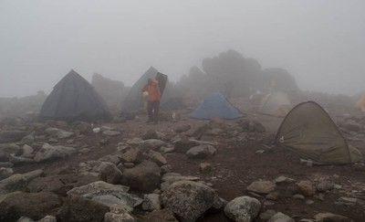 Camp at Tooth Col