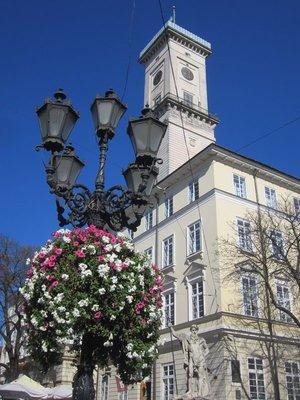 Rynok Square City Hall and tower