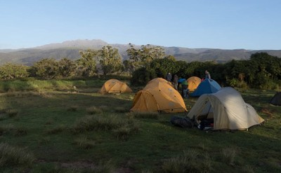Morning at Bandas Camp