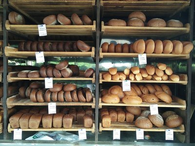 A great selection of fresh bread