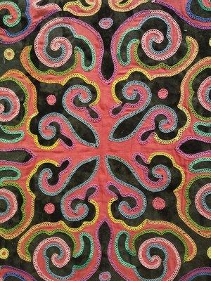Traditional Nanai embroidery