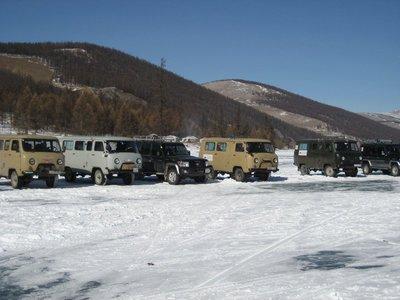 Russian vans