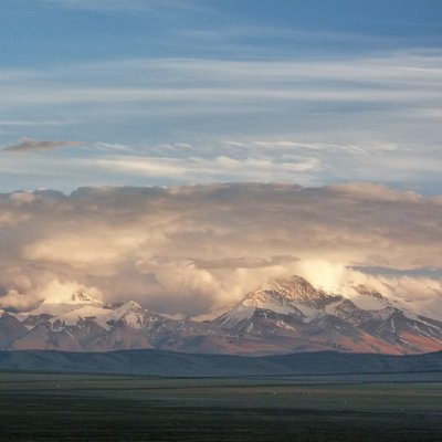 Mountains near Lake Manasarovar