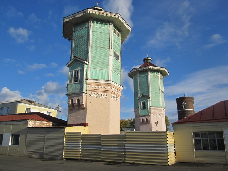 Taiga water towers