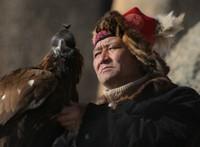 Kazak with his eagle