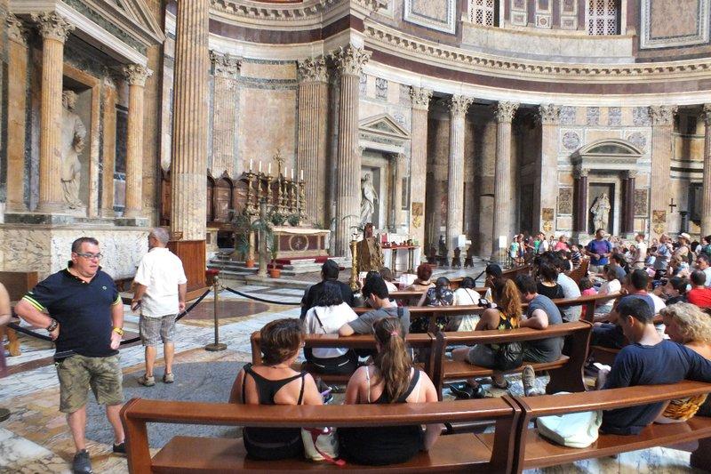 interior of Pantheon