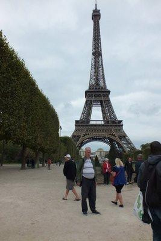 me at Eiffel Tower