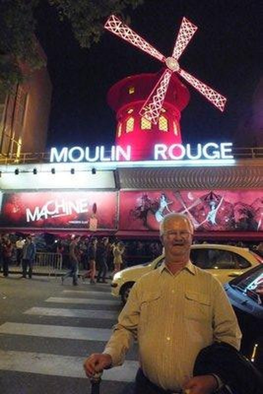 me at Moulin Rouge