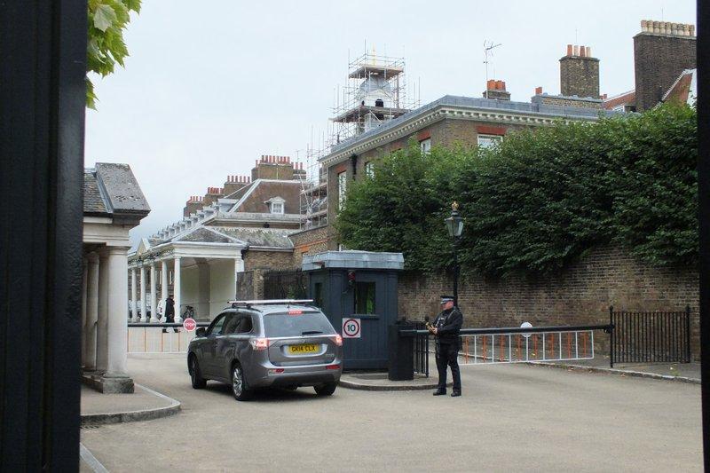 private entrance Kensington Palace