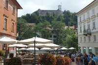 the Ljubljana catle on the hill