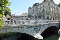 one of many bridges in Ljub