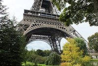 Eiffel Tower and gardens