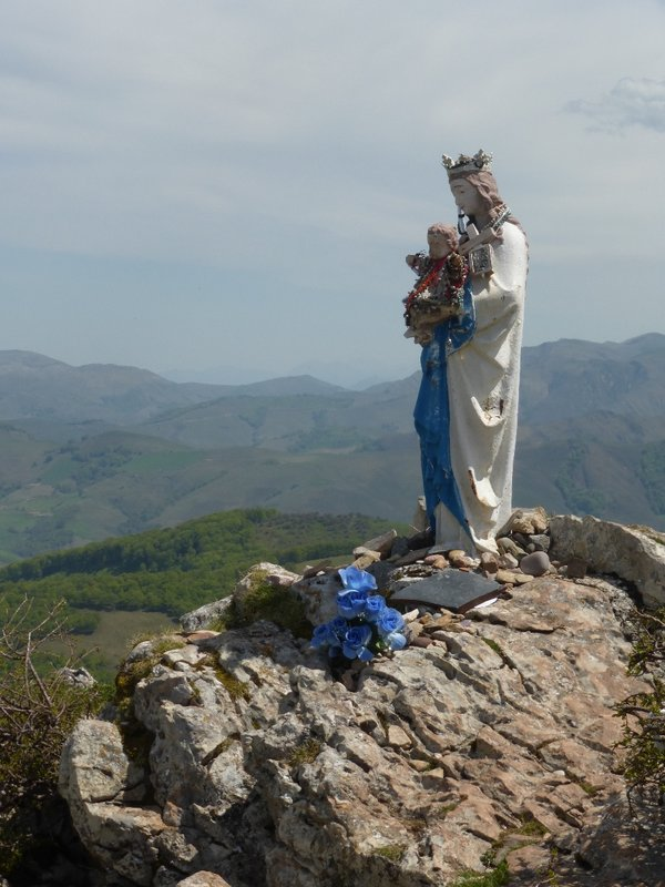Madonna watching over the Pass
