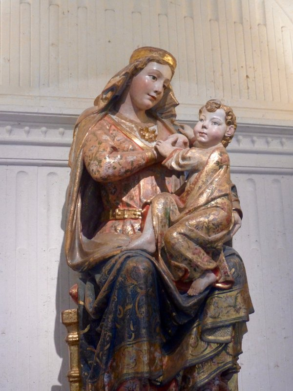 Even Mary Breastfed