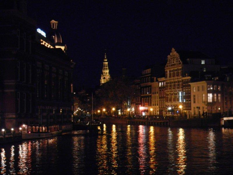 Nightfall Over Amsterdam