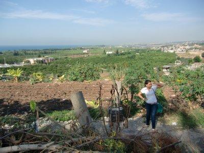 Utsikt fra Bourgliyeh