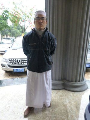 Imam Omar Nasir, the Imam of Grand Mosque of Shadian.