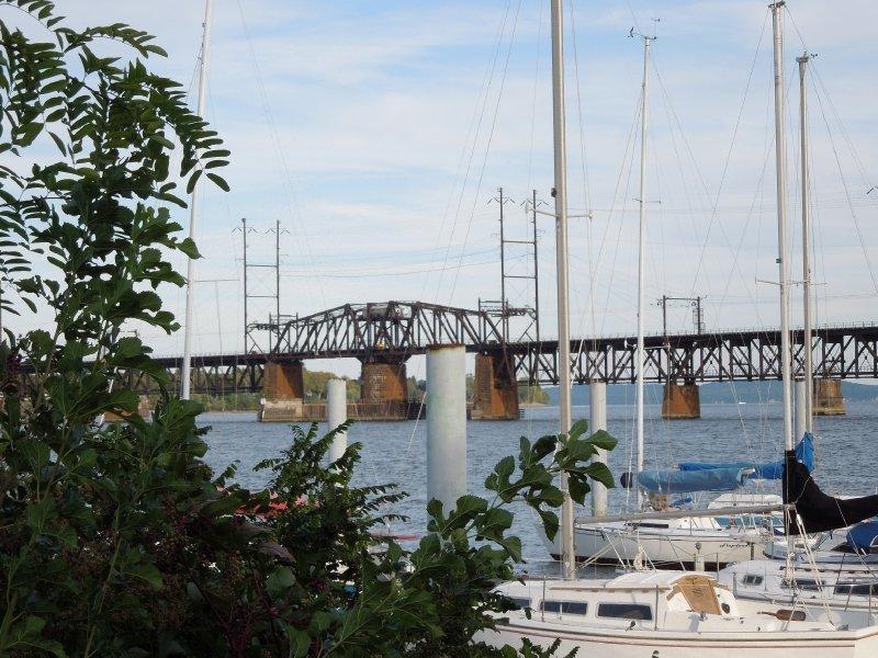 Railroad bridge over the Susquehanna River