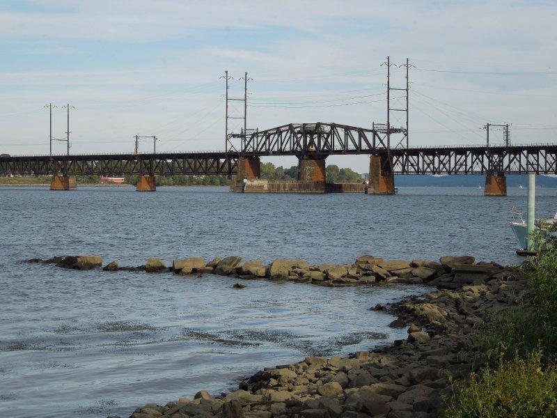 Railroad bridge over the Susquehanna River - Havre de Grace