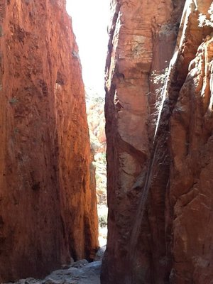 Standley Chasm in de West Macdonnell Ranges