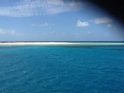 Aankomst Great Barrier Reef