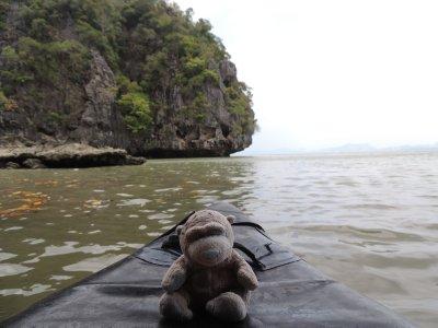 James Bond Island Day Trip - Patch enjoying some sea kayaking
