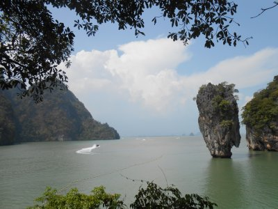 The view from James Bond Island