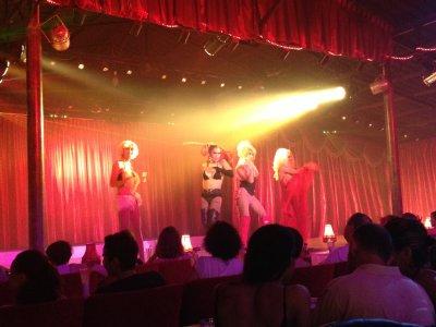 Ladyboy show - Lady Marmalade