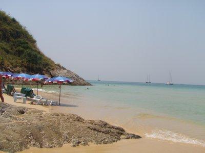 Our little cove at Nai Harn Beach, Phuket