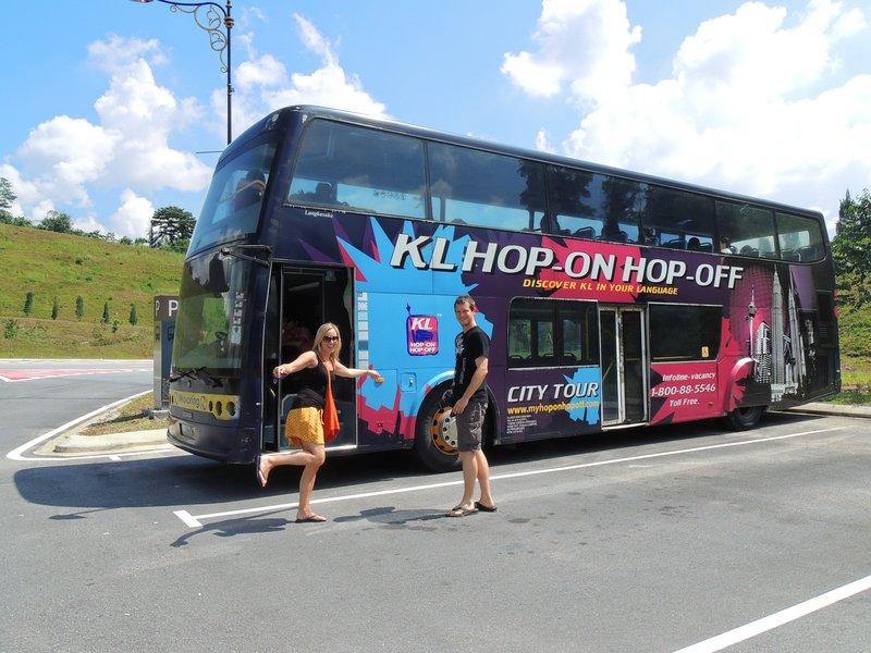 Hop on, hop off bus tour