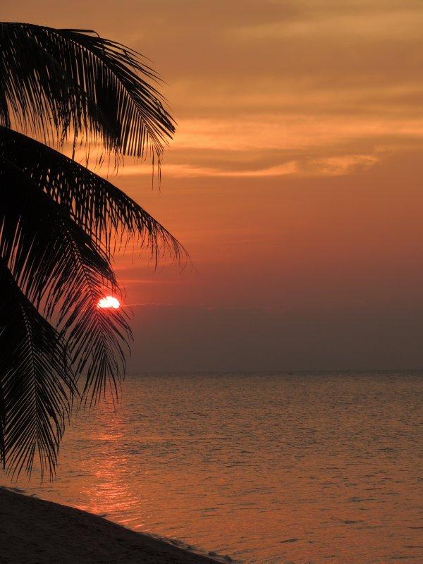 Sunset at Bangpor Beach, Ko Samui