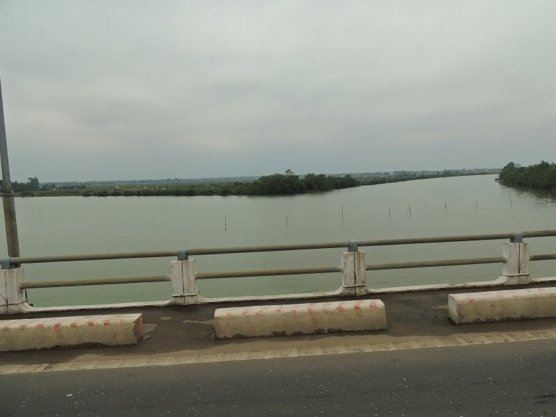 Ben Hai River, the old divide between north and south Vietnam