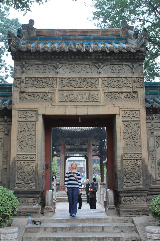 Jo in City of God Temple, Xi'an