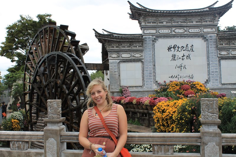 Jo in Lijiang Old Town