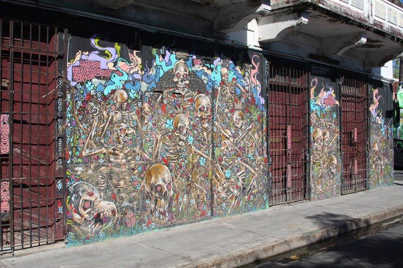 Street art in Puerto Rico