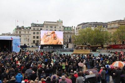 Remembrance Day @Trafalgar Square