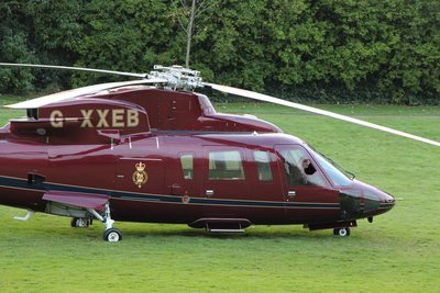 Royal Helicopter @Kensington Palace