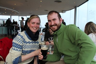 Rein & Leah @Guinness Gravity Bar
