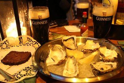 Oysters & Guinness @John o Gogarty's