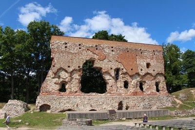 Viljandi Castle Wall Ruins