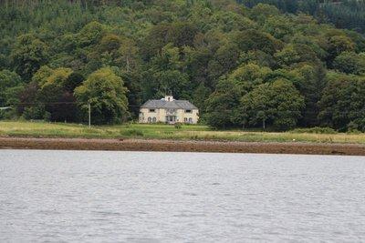 Melfort House from Loch Melfort