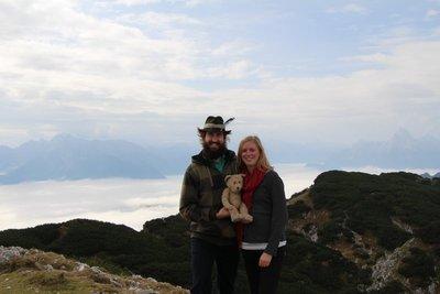 Rein, Leah & Henry @Untersberg Summit