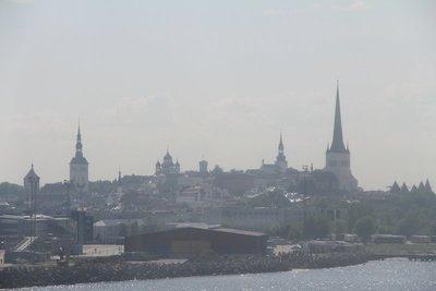 Tallinn from the Baltic Sea