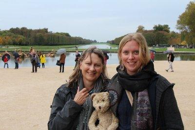 Mum, Henry & Leah @Versailles Palace