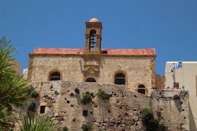Bell Tower at the Chrysoskalitissa Monastery