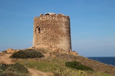The Spanish Tower of Isola Rossa