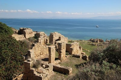 The ruins of Tharros