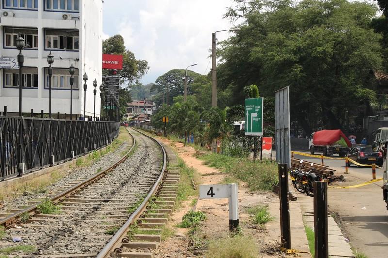 Kandy Train Tracks