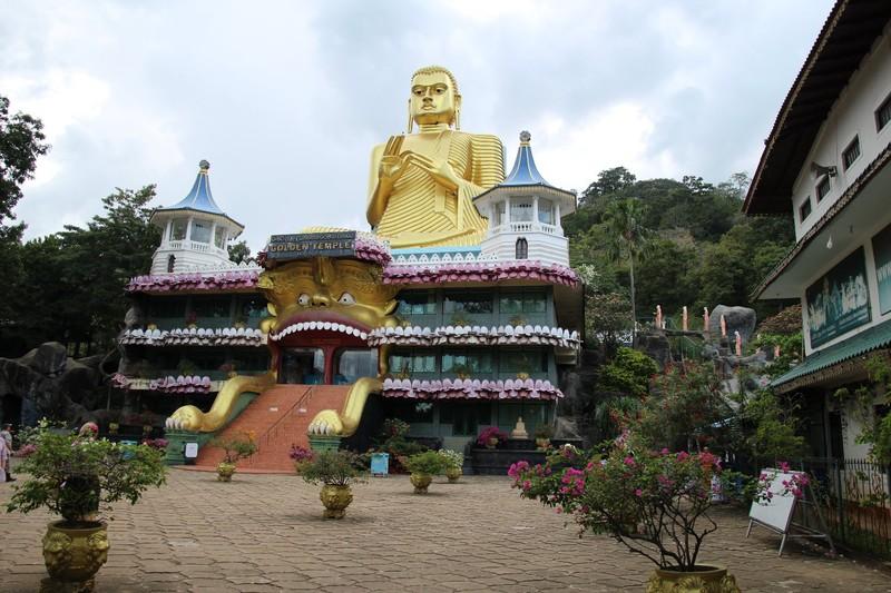 The Golden Temple - Dambulla