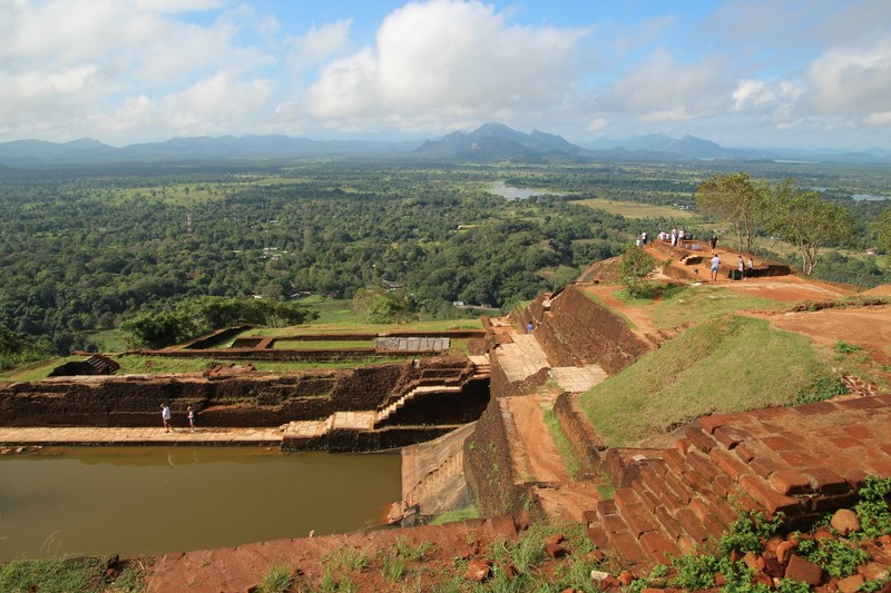 Looking over Sigiriya